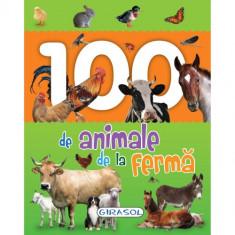 Carte Ilustrata 100 de Animale de la Ferma