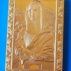 Lingou Auriu Mona Lisa - Leonardo da Vinci UNC