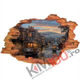 "Sticker ""Wall Crack"" Sanfran 3 - 120 x 80 cm"