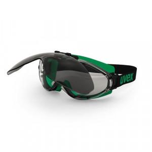Ochelari protectie Uvex lentile colorate filtru 5 cadru negru verde detasabili