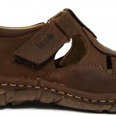 Sandale barbati din piele maro Berende 334, 40 - 45