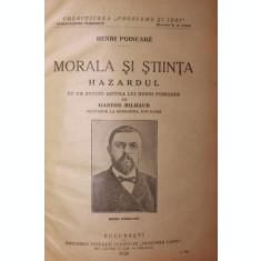 MORALA SI STIINTA - HENRI POINCARE