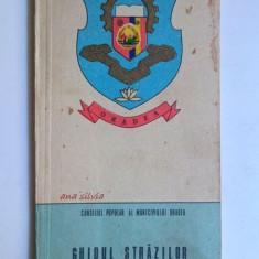Ghidul strazilor municipiului Oradea 1981