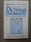 DICTIONAR ONOMASTIC 1997