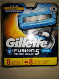 SET 8  rezerve Fusion Gillette Proshield Chill SUA( NOU )
