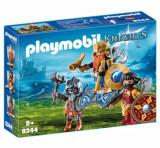 Playmobil Knights, Regele pitic cu gardieni