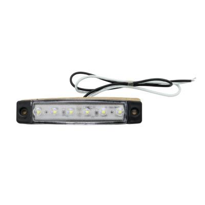 Lampa gabarit/autoturisme cu 6 leduri: 12V/24V ALBA foto