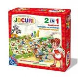 Cumpara ieftin Colectie de Jocuri pentru copii 2 in 1 60785, D-Toys