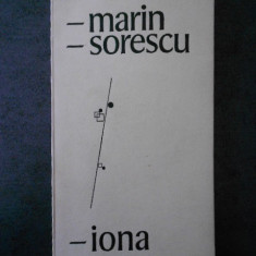 MARIN SORESCU - IONA (1968, prima editie)