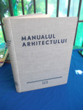 MANUALUL ARHITECTULUI , DUPA PROF. E. NEUFERT , 1948