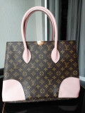 Geanta Louis Vuitton Flandrin, Rose, Mare