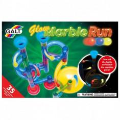 Marble Run - Set reflectorizant - 35 piese PlayLearn Toys, Galt