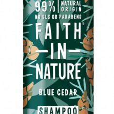 Sampon barbati cu cedru albastru, pt. toate tipurile de par, Faith in Nature,...