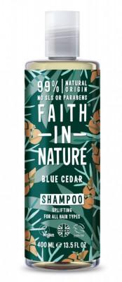 Sampon barbati cu cedru albastru, pt. toate tipurile de par, Faith in Nature,... foto