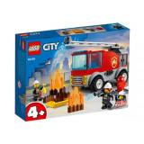LEGO City Masina de pompieri cu scara
