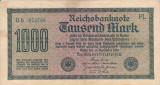 GERMANIA 1.000 marci 1922 VF+!!!