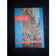REVISTA MAGAZIN ISTORIC (August, 1989)