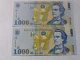 Romania 1000 lei 1998-UNC-Filigram mare+mic