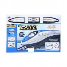 Tren electric cu lumini