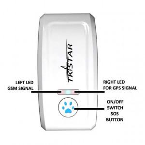Zgarda cu localizare GPS pentru animale