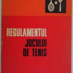 REGULAMENTUL JOCULUI DE TENIS , 1974