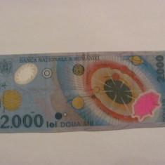 CY - 2000 lei 1999 Romania / eclipsa