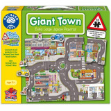 Puzzle Gigant de Podea Orasul 15 Piese, orchard toys