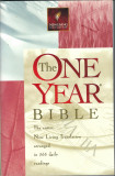 The one year Bible (365 daily readings) 1450 pg.