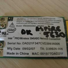 Placa wireless laptop Acer Aspire 5630, Intel 3945ABG, WM3945ABG MOW2