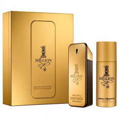 1 Million EDT 100 ml, Deo Spray 150 ml Set Barbati, Paco Rabanne