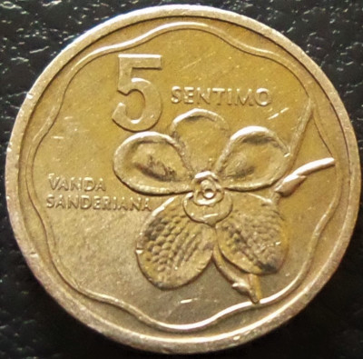 Moneda 5 SENTIMO - FILIPINE, anul 1987 *cod 205 foto