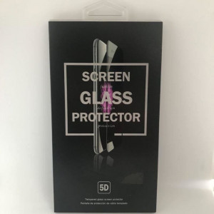 Folie sticla iPhone 7 8 5D Full Face Neagra