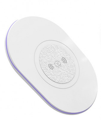 Incarcator Wireless QI Universal WUW-W05 Flippy Blister, Alb foto
