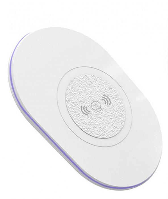 Incarcator Wireless QI Universal WUW-W05 Flippy Blister, Alb