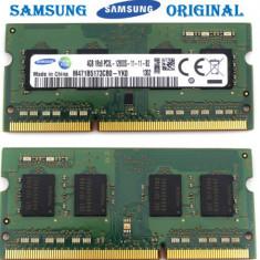 Memorie Ram Laptop Samsung 4GB DDR3L-12800s 1600Mhz 1Rx8 Sodimm