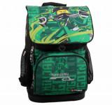 Ghiozdan scoala Optimo cu geanta sport Energy LEGO Ninjago