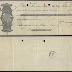 Belgium 1895 Postal History Rare Commercial document Verviers DB.239