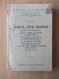 ZOTTA- CODUL CIVIL ROMAN- 1945, r2c