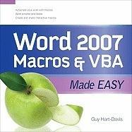 Word 2007 Macros & VBA Made Easy foto