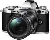 Aparat Foto Mirrorless Olympus E-M5II 1415II Kit, 16 MP, Filmare Full HD (Argintiu)