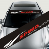 Sticker parasolar auto SPEED (126 x 16cm) ManiaStiker, AutoLux