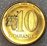 Moneda EXOTICA 10 GUARANIES - PARAGUAY, anul 1996  *cod 588 = UNC
