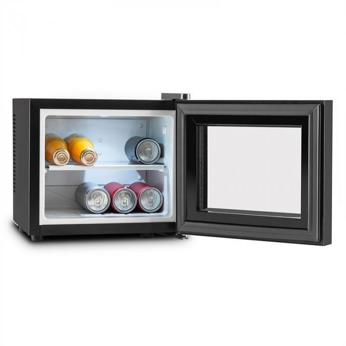 Klarstein KLARSTEIN Frosty, negru, mini-frigider, 10 litri, 65W, clasa B
