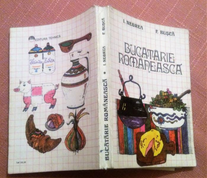 Bucatarie Romaneasca - I. Negrea, F. Busca