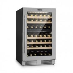 Klarstein Vinovilla Duo79, frigider pentru vin cu 2 zone, 189 L, pentru 79 de sticle, uși din sticlă cu 3 straturi