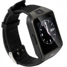 Ceas Smartwatch iUni DZ09, BT, Camera 1.3MP, 1.54 Inch, Negru