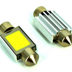 Bec LED COB SOFIT 36MM 2W 12V ALBA CANBUS COD: PT50 ManiaCars