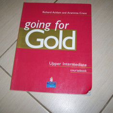 GOING FOR GOLD UPPER INTERMEDIATE COURSEBOOK  ACKLAM CRACE