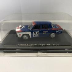Macheta dacia 1100 Renault 8 Gordini Coupe 1969  24