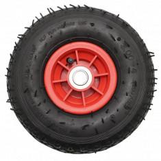 Roata plastic liza carucior cu rulment TT 3.00-4 (260X85) - 2PR